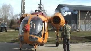 getlinkyoutube.com-Kamov Ka-26 HA-MPZ tavaszi készülődés