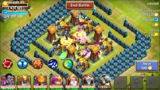 getlinkyoutube.com-Castle Clash -  More HBM S and HT 18 part 2 101415
