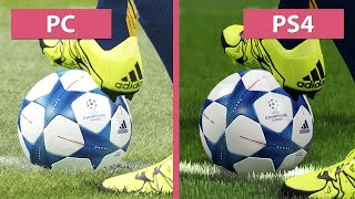 getlinkyoutube.com-PES   Pro Evolution Soccer 2016 – PC vs. PS4 Graphics Comparison [FullHD][60fps]