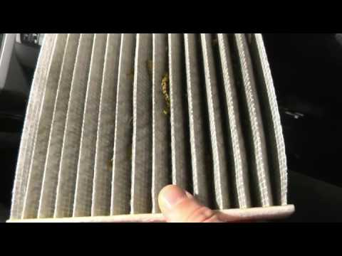 2008-2019 Toyota sequoia/tundra cabin air filter replacement