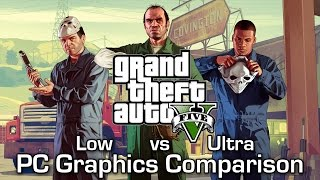 getlinkyoutube.com-GTA V PC - Normal (Low) vs Ultra - Graphics Comparison (60FPS)
