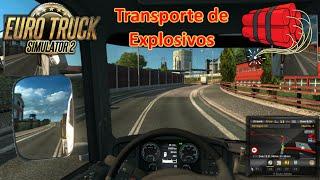 getlinkyoutube.com-EURO TRUCK SIMULATOR 2 (PC) - Transporte de explosivos || Gameplay en Español