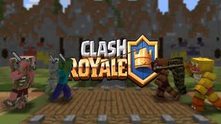 getlinkyoutube.com-FNAF vs Mobs: Clash Royale Challenge - Monster School (Five Nights At Freddy's)