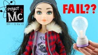 Project MC2 Doll - McKayla's Light Bulb FAIL