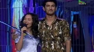 getlinkyoutube.com-Sushant Purposed Ankita on Jhalak Dikhla Jaa Season 2 [14th Feb 2011]