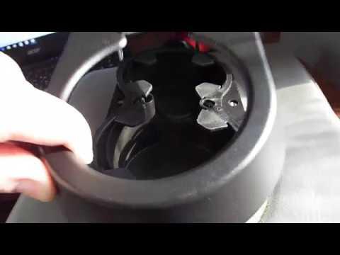 Как разобрать подстаканник в заднем подлокотнике Шевроле Тахо GMT 800