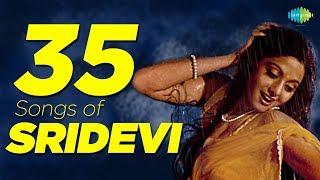 Top 35 Songs of Sridevi | श्रीदेवी के 35 गाने | HD Songs | One Stop Jukebox