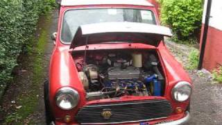 getlinkyoutube.com-1974 Morris Mini - First start in seven years!