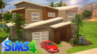 "The Sims 4: House Building - ""Majesty"" - A Modern Home"
