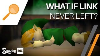 getlinkyoutube.com-Ocarina of Time - What if Link never left Kokiri Forest? | SwankyBox