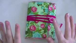 getlinkyoutube.com-Floral Napkin 6x9 Envelope Journal.