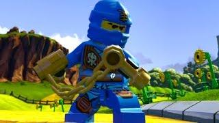 LEGO Dimensions - Jay (Ninjago) Open World Free Roam (Character Showcase)