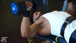 getlinkyoutube.com-Sergi Constance - How get a shredded chest & triceps workout