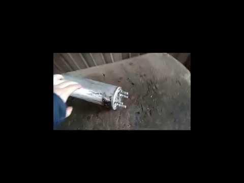 Вскрытие топливного  фильтра Volkswagen Transporter T5 (1.9 AXB)