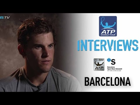 Interview: Dominic Thiem Confident Ahead Of Barcelona 2017