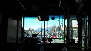 getlinkyoutube.com-Trolley Bus Ride in Vancouver BC on Main Street