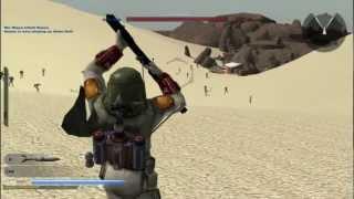 getlinkyoutube.com-Battlefront 2 custom map review: Tatooine Outpost
