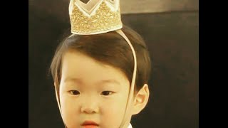 Song Triplet Daehan, Mingguk, and Manse   Mingguk didn't want to be little mermaid New