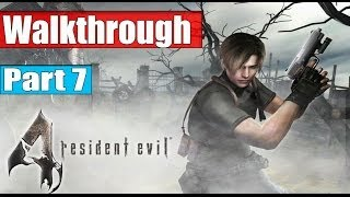 getlinkyoutube.com-Resident Evil 4 Ultimate HD Edition Walkthrough Part 7 - Chapter 3 - 1 No Commentary PC