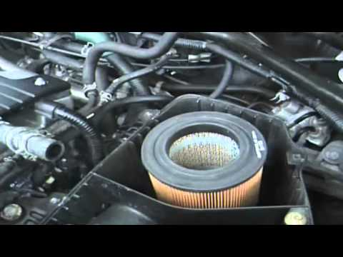2002 Honda crv ex Air Eliment Filter change 2 how to