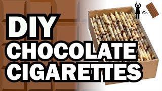 getlinkyoutube.com-DIY Chocolate Cigarettes, Corinne VS Chocolate