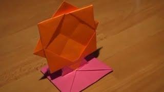 getlinkyoutube.com-How To Make An Origami Photo Frame