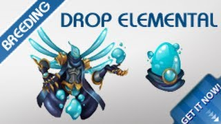 getlinkyoutube.com-How To Get Drop Elemental Monster By Breeding In Monster Legends