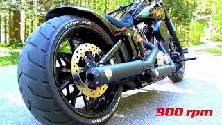 getlinkyoutube.com-Harley Davidson Breakout Live Idle 1100rpm 1000rpm 900rpm