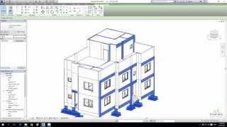 getlinkyoutube.com-7- الريفيت الإنشائي: ربط الملف المعماري وعمل الكمرات المقلوبة Revit Strcture