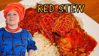 Oyinbo Cooking: Tomato Red Sunday Stew! Nigerian Classic by Oyinbo Nwunye! African Food!