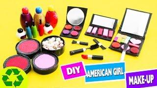 getlinkyoutube.com-DIY AMERICAN GIRL MAKEUP / COSMETICS