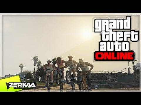 GTA V Online Funny Moments |