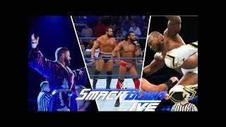 WWE Smackdown Live 08 /29/ 2017 Highlights HD