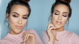getlinkyoutube.com-Makeup Look | Glittery Glowy Glam - NICOLE GUERRIERO