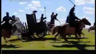 getlinkyoutube.com-Huns VS Han China  War  - China Cavalry VS Turik Cavalry