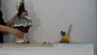 getlinkyoutube.com-Boneca Russa de pano - Articulada