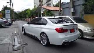 getlinkyoutube.com-BMW F30 320i w/ innotech performance exhaust !!