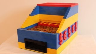 getlinkyoutube.com-Lego coin pusher v2