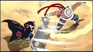 getlinkyoutube.com-【AMV】Naruto - Sasuke vs Killer Bee - Impossible