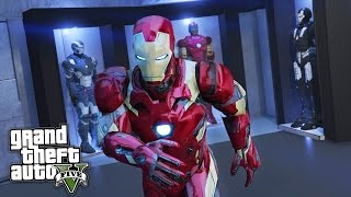 getlinkyoutube.com-GTA 5 Mods - IRON MAN/TONY STARK'S MANSION MOD!! GTA 5 Iron Man Mod Gameplay! (GTA 5 Mods Gameplay)