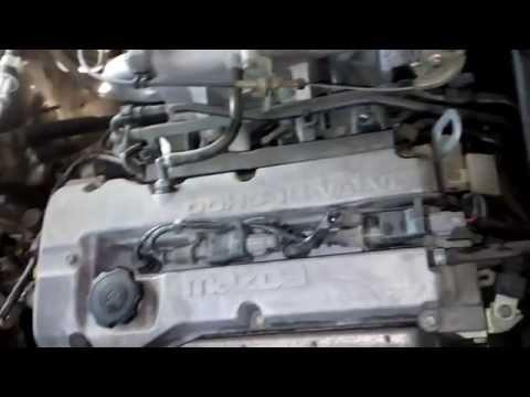 Mazda 323 троит двигатель при наборе оборотов