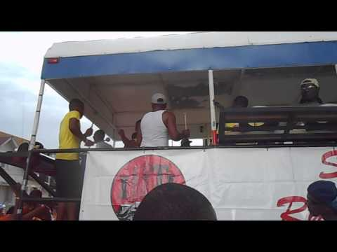 Siparia Rhythm Posse at sando Jouvert 2014