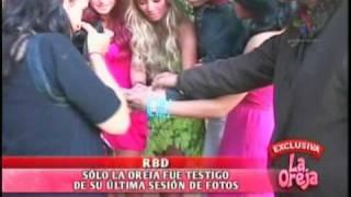 DyP -  RBD em sua última sessão de fotos (La Oreja)