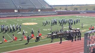 getlinkyoutube.com-Pearsall High School Mighty Maverick Band 10/4/14