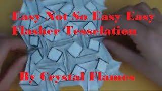 getlinkyoutube.com-Easy Not So Easy Easy Flasher Tesselation - Crystal Flames (Tutorial)
