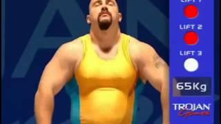 """getlinkyoutube.com-Trojan games  """"Weightlifting"""""""