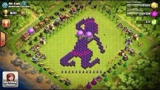 Funny Base Compilation || Clash of Clans