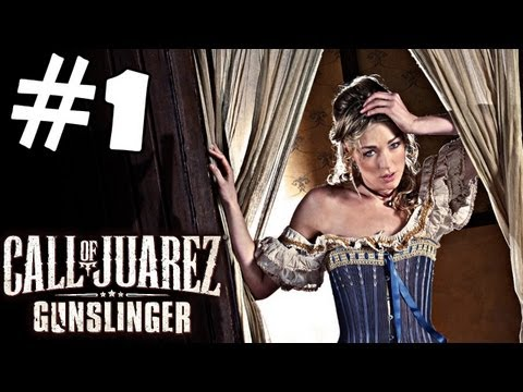 Call of Juarez Gunslinger Walkthrough Part 1 Gameplay Review Let's Play Playthrough PC PS3 XBOX 360