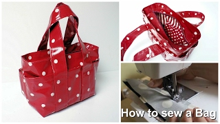 getlinkyoutube.com-How to sew a Handbag - Step by Step Tutorial (Box Bag Pattern)