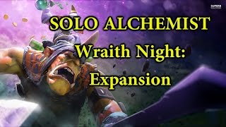 getlinkyoutube.com-DOTA 2 REBORN MOD | WRAITH NIGHT: EXPANSION | SOLO LANE HARD ALCHEMIST